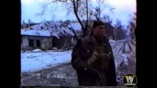 Чечня. Лейтенант 131 ОМСБР Сергей Кравченко.
