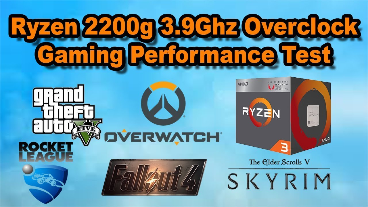 3 9Ghz RYZEN 3 2200g Gaming Performance Built in Vega 8 Graphics