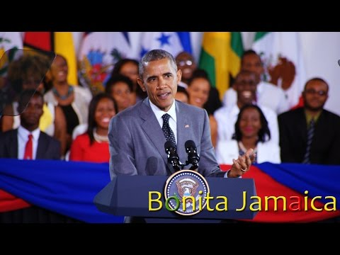 President Obama at Youth Town Hall Meeting in Jamaica (Full Video)