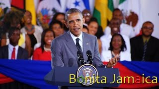 President Obama at Youth Town Hall Meeting in Jamaica (Full Video) thumbnail