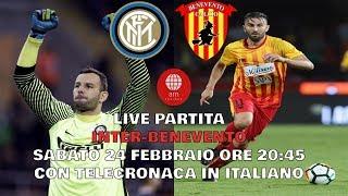 Inter-benevento 2-0 24/02/2018