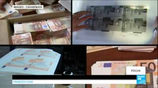 ITALIE – La fabrication de faux billets d'euros, spécialité de la mafia napolitaine