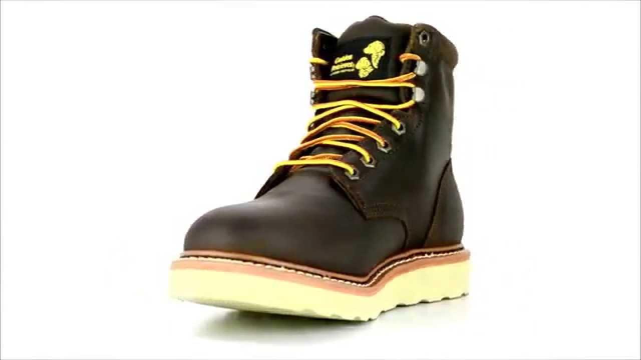 s golden retriever 2952 6 inch steel toe wedge sole