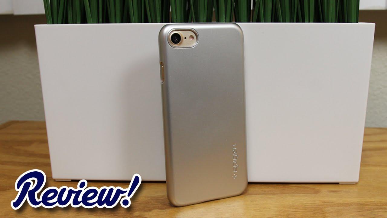 buy online 55fb7 70947 Review: Spigen Thin Fit iPhone 7 Case