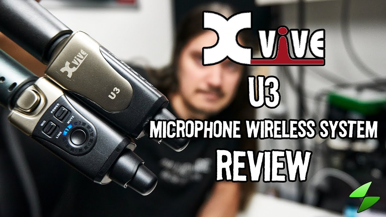 xvive u3 microphone wireless system full review youtube. Black Bedroom Furniture Sets. Home Design Ideas