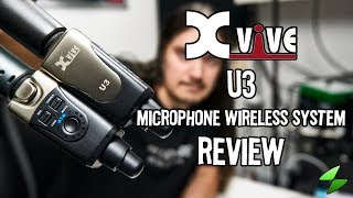 Xvive U3 microphone wireless system. Full review