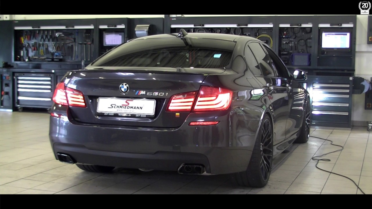 Exhaust Sound Bmw F10 550i After Installation Of Bmw