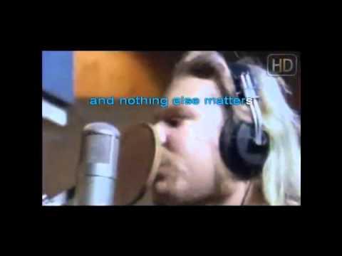 Metallica - nothing else matters Karaoke