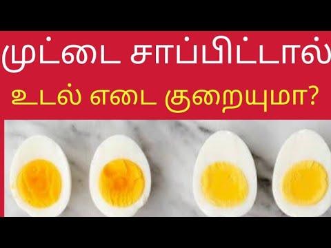 10 days 10 kg weight loss Egg Diet Challenge | முட்டை சாப்பிட்டால் எடை குறையுமா? | quick weight loss
