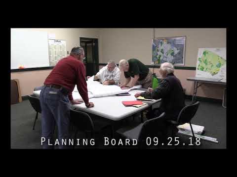 Planning Board 09.25.18