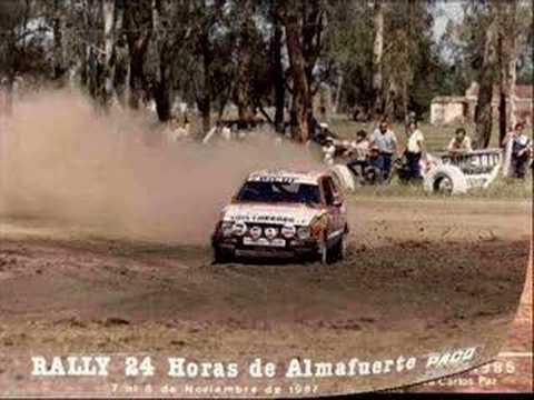 Daihatsu Charade G10 At Race In Argentina Youtube