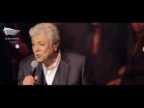 Enrico Macias performing at Dubai Opera on 22 Jan 2021