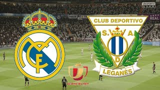 Copa del rey 2019 - real madrid vs leganes 1st leg 09/01/19 fifa 19round 16 begins as host at the bernabeu in first leg!live fr...