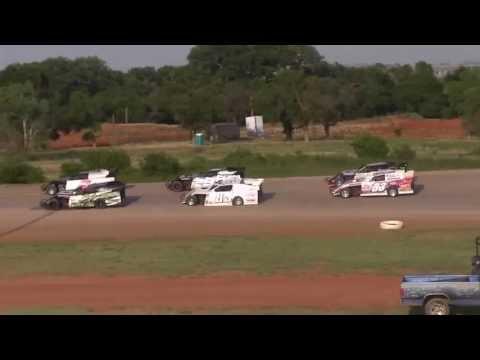 USMTS @ Elk City Speedway  6 23 13 Heat #4