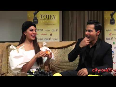 Exclusive interview with Jacqueline Fernandez and Varun Dhawan on City 1016 TV