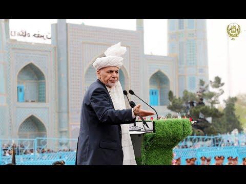 سخنرانی رئيس جمهور غنی در جشن نوروز در ولایت بلخ thumbnail