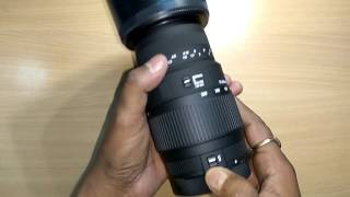 SIGMA 70-300 F4-5.6 DG MACRO Lens Unboxing and review, HINDI, TECHNICAL ASTHA