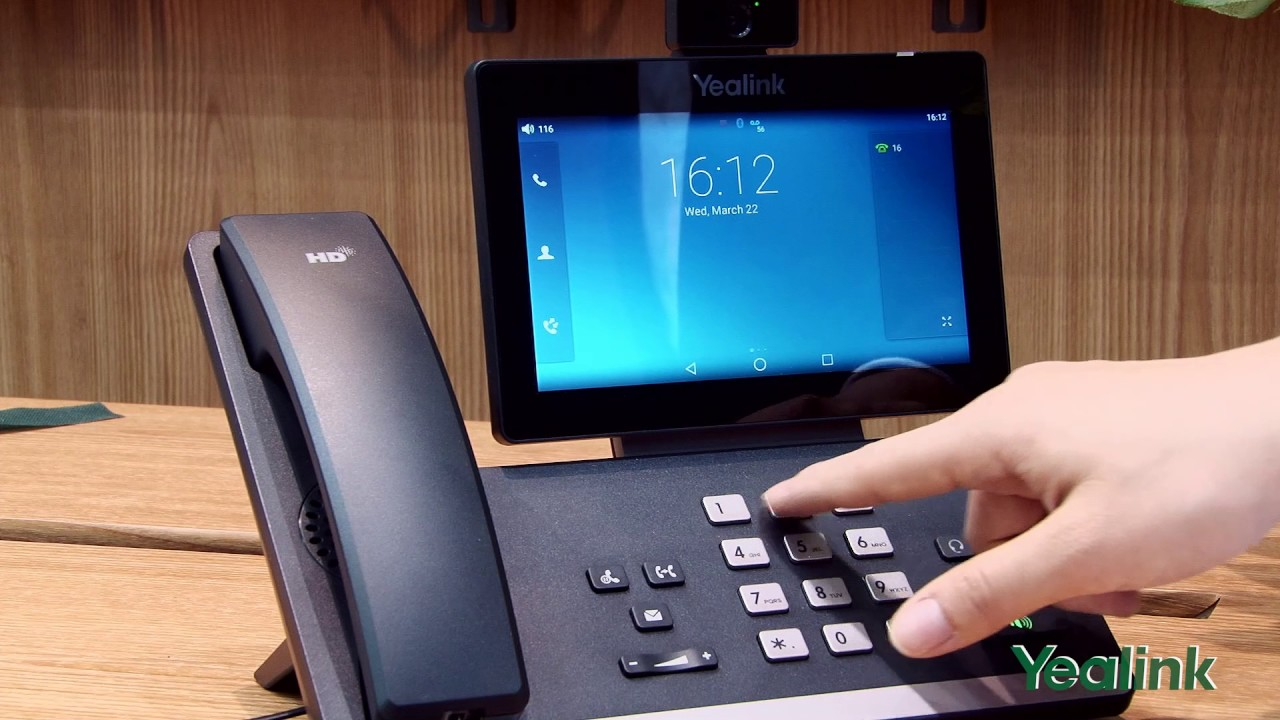 Yealink SIP-T56A   Hospital VoIP Phone   Office Phone