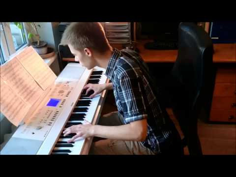 Yiruma - Kiss the Rain (piano cover by Toms Mucenieks)