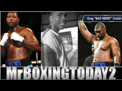 """Gregory Corbin 15-0 Heavyweight """"Bad News"""" Back In Action August 4th!!"""