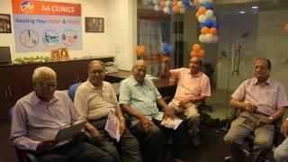 A4 Clinics Indore Welcomes Malwa Varishtha Nagrik Manch