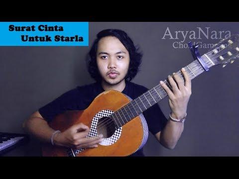 Chord Gampang (Surat Cinta Untuk Starla - Virgoun) By Arya Nara (Tutorial Gitar)
