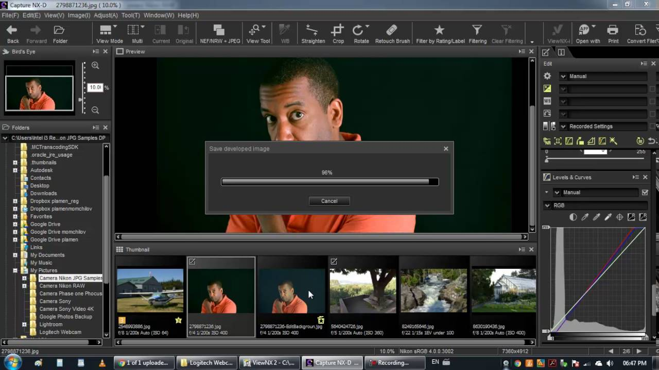 Nikon capture nx2 tutorial – perfect contrast with double.