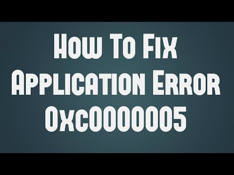 [FIXED] How to Fix 0xc0000005 application Error on windows PC