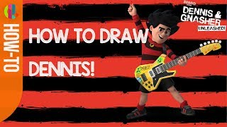 How to draw Dennis! | Dennis & Gnasher Unleashed