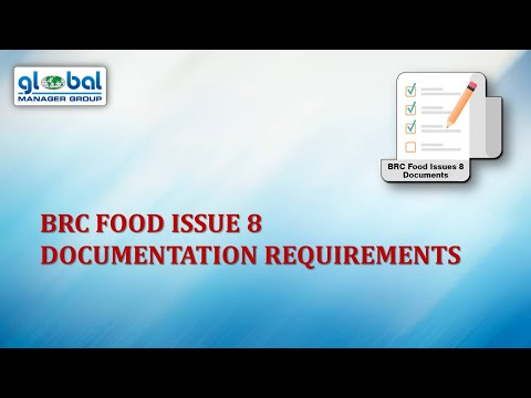 What Documents Required For BRC Food Issue 8 Certification?