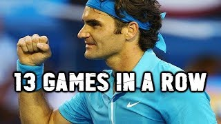 A GOAT Comeback Story ● Federer Wins 13 Games in a Row!