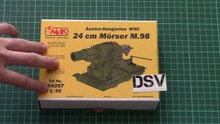 CMK 1/35 24cm Morser M.98 (RA057) Review