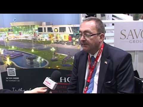 Jacques Peter, General Manager, SOHO Square, Savoy Hotels & Resorts @ ITB Berlin 2012
