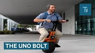 This Electric Unicycle Will Let You Explore The World One Wheel At A Time