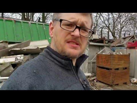 UK scrap yard