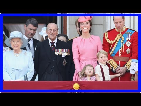 Princess Charlotte rules on Big Brother Prince George, Queen Elizabeth II said