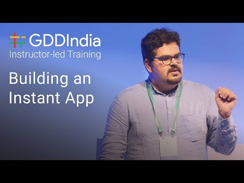 Building an Instant App with Anirudh...