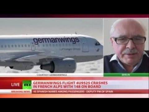 Plane Crashes in France 150 People Dead in Flight 4U9525 Germanwings Airbus A320