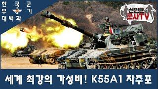 세계최강의 가성비! 한국육군 사단포병 K55A1 자주포