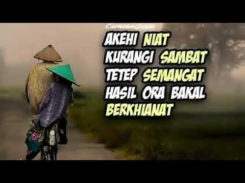 Kata Bijak Bahasa Jawa Dan Menginspirasi Youtube