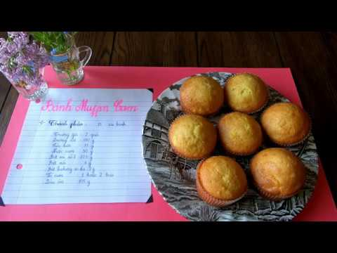 Vlog 25| BÁNH MUFFIN CAM | Cách làm bánh không cần máy | Góc Nấu nướng