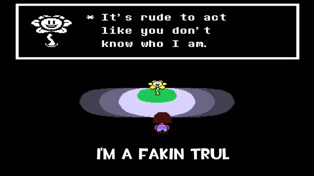 How to troll Flowey, UNDERTALE - YouTube