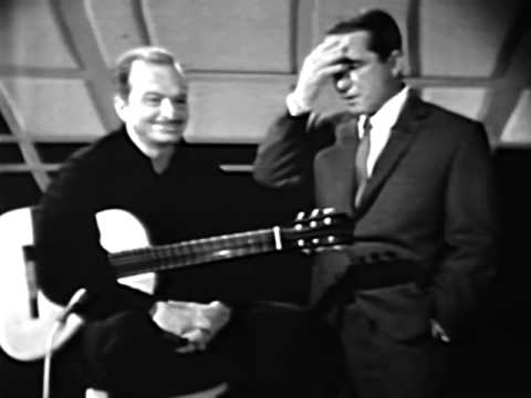Brazilian Guitarist Luiz Bonfá With Perry Como