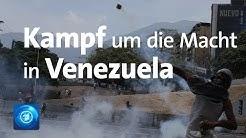Machtkampf in Venezuela: Schwere Ausschreitungen in Caracas