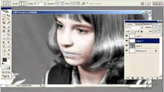Уроки фотошоп.  Реставрирование фотографий.