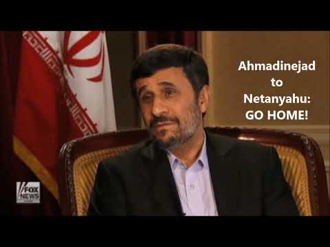 Ahmadinejad to Netanyahu:   GO HOME!