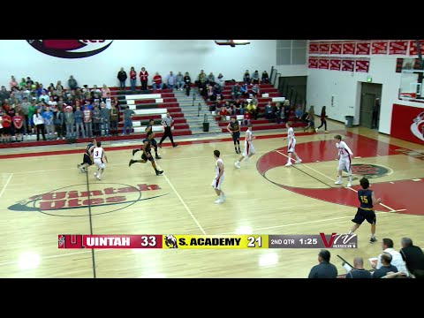 2015 High School Basketball: Summit Academy @ Uintah