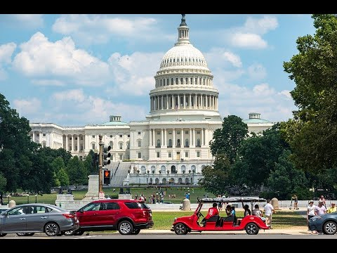 D.C. tour video - landmarks and local images