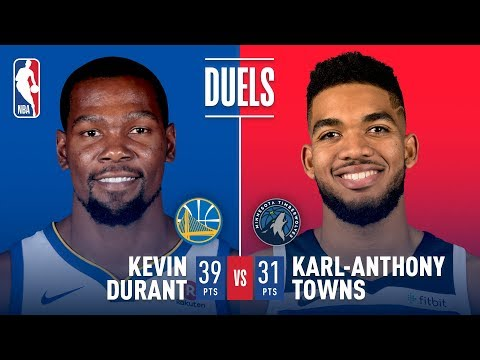Karl Anthony Towns and Kevin Durant Duel in Minnesota