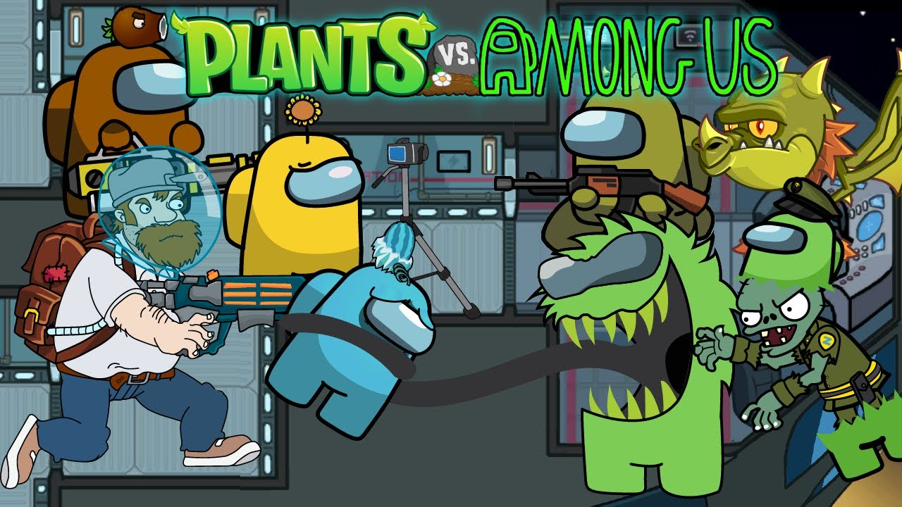 Among Us Zombie Season 1 - Ep7 - Among Us Zombie Vs All Plants Animation